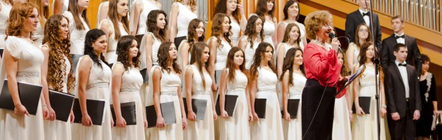 "University Choir ""Cantabile"" turned three years!"